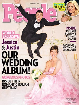 Jessica Biel Wore a Pink Giambattista Valli Gown To Marry Justin Timberlake