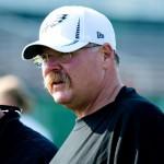 Philadelphia Eagles head coach Andy Reid