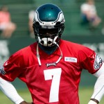 Eagles quarterback Michael Vick