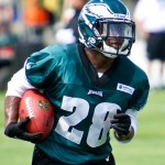 Philadelphia Eagles running back Dion Lewis.