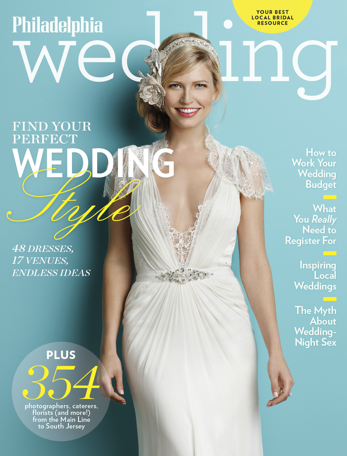 Sneak Peek: Philadelphia Wedding's Spring/Summer 2013 Issue!