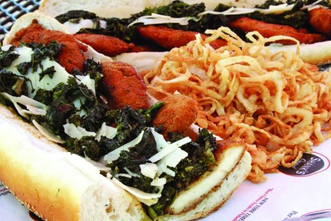 Philly-Style Chicken Cutlet Sandwich Recipe — Dishmaps