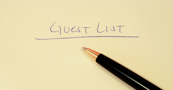 Bride-to-be Blogger Carly: Figuring Out Our Guest List