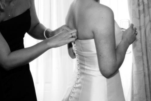 Bride-to-be Blogger Kristy: My Dress Is Here!