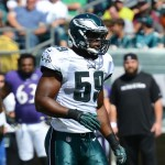 Philadelphia Eagles LB DeMeco Ryans.