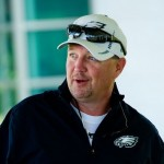 Philadelphia Eagles offensive coordinator Marty Mornhinweg.
