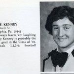 Philadelphia City Councilman Jim Kenney's high school year book photo at St. Joe's Prep.