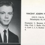 Former Philadelphia Mayor Vince Fumo in his yearbook photo for St. Joe's prep.