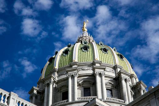 Harrisburg State Capital Dome