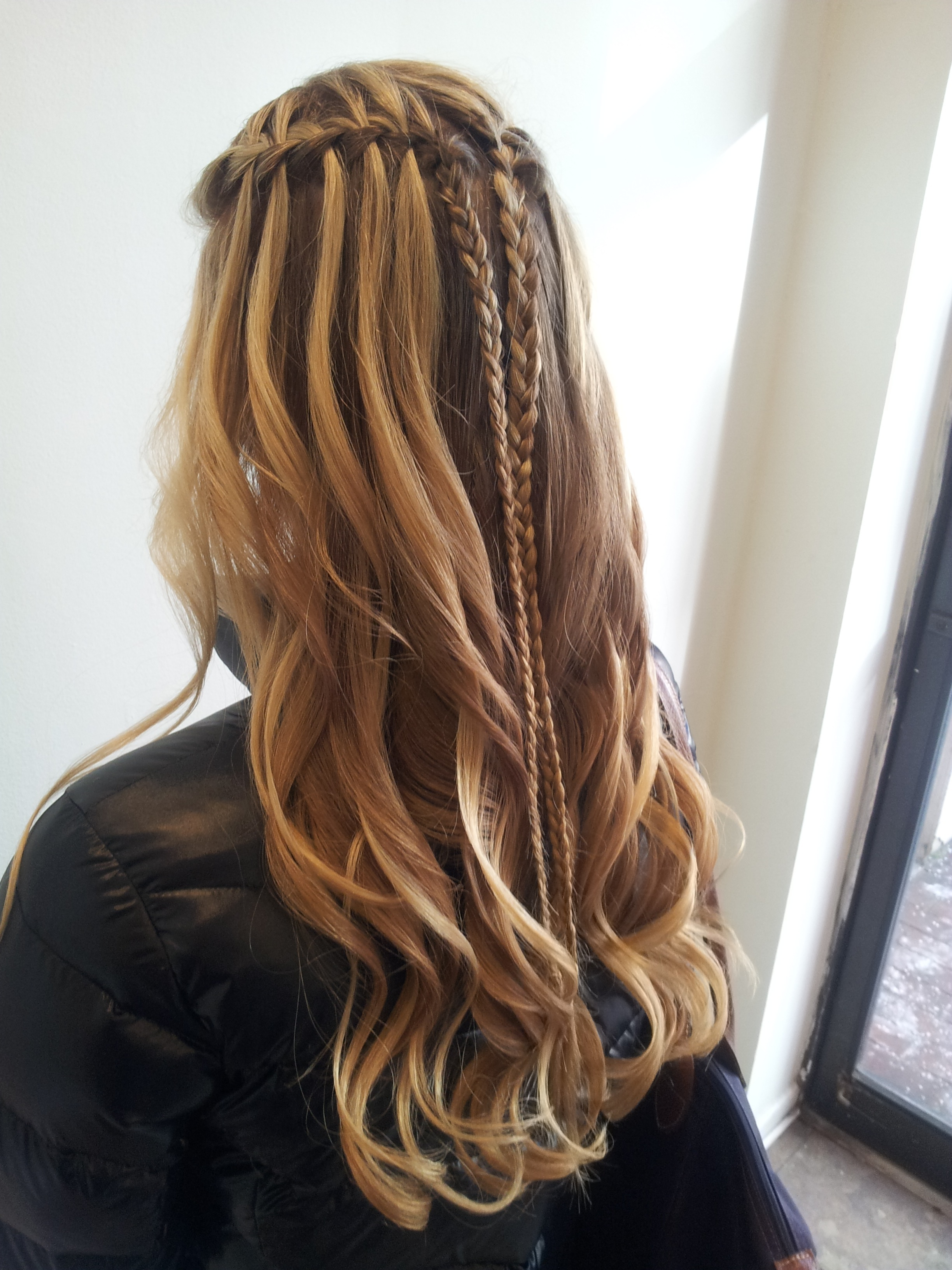 Looks We Love: Instead of a Blowout, the Braid Bar at Philadelphia's AMS Salon