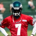 Eagles quarterback Michael Vick