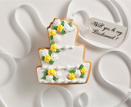 PHOTOS: Ask Your Girls To Be Your Bridesmaid With These Adorable Cookies