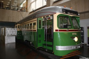 The Septa Transit Museum in Philadelphia.
