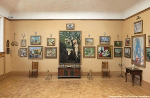 The Barnes Foundation art museum in Philadelphia.
