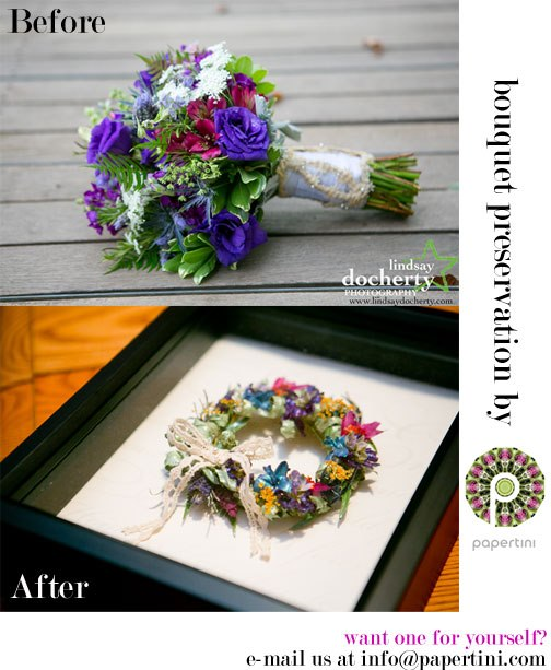 Our New Favorite Way to Preserve Your Bridal Bouquet | Bridal Bulletin