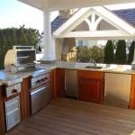 Fabulous outdoor kitchen in Stone Harbor
