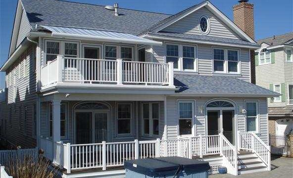 A single-family home in Ocean City, 2411 Wesley Ave. is a well-maintained beach home.