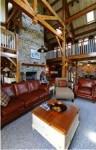 Inside the Chester Springs Timber-frame home