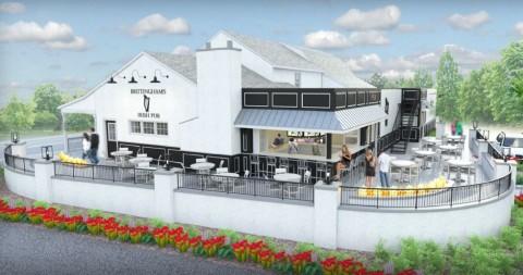 Brittingham's - Exterior - Morrissey Design