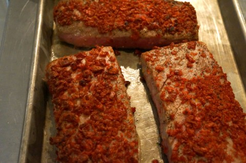 Ba-Cos Crusted Tuna