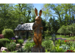 A beautiful garden at 2545 River Road in New Hope