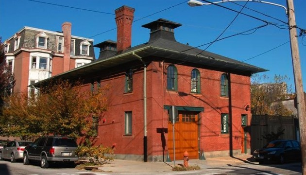 Fantastic Center City carriage house for sale in Philadelphia.