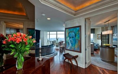 Superb views and luxury living in this spacious Symphony House Condo for Sale.