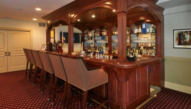 A dream for the at-home mixologist is this gorgeous bar at 141 Center Mill Rd. in Chadds Ford.
