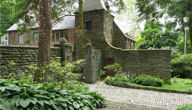 George Howe designed home for sale in Chestnut Hill.