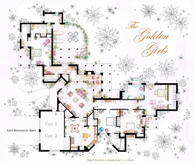 Floorplan by Iñaki Aliste Lizarralde