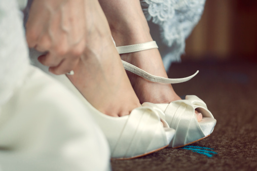 Bride-to-be Blogger Carly: I Finally Got My Wedding Shoes! (With a Little Help From Mom)