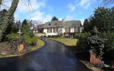 Stop by 160 Abrahams Lane in Villanova, new on the market, for an open house this weekend.