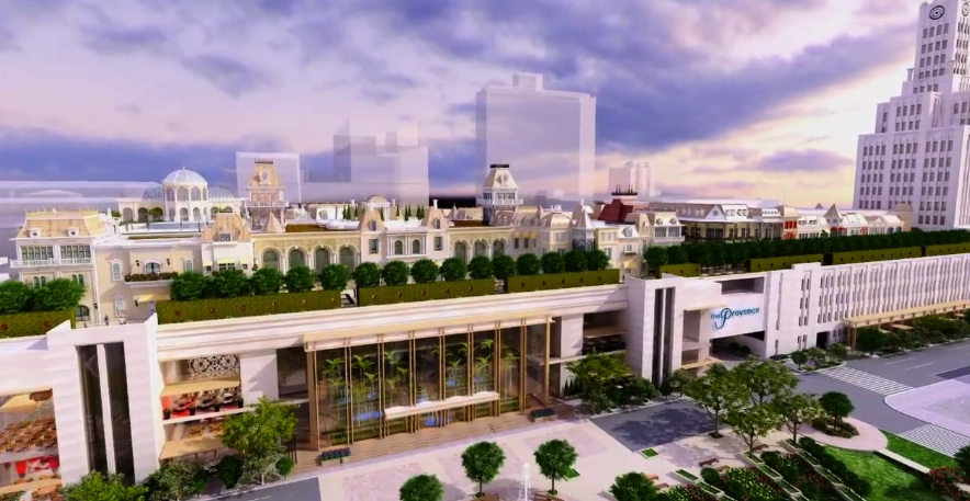A rendering of Bart Blatstein's Provence casino.