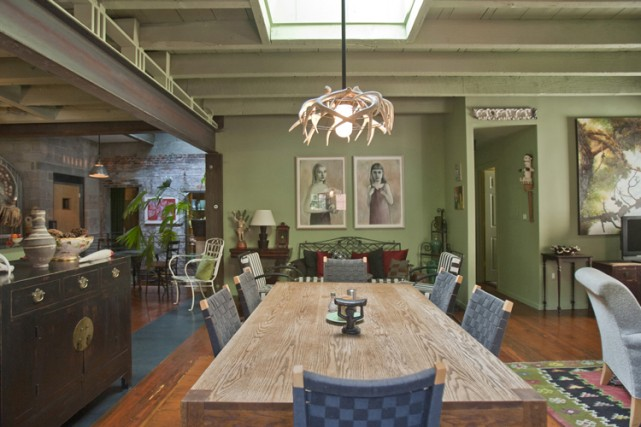 The Wall Street Journal also featured the Curran House, a conversion of three historic carriage houses by Metcalfe Design & Architecture.
