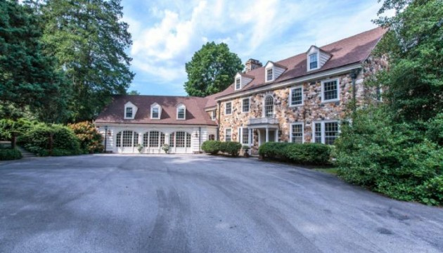Formerly part of Dupont's Longwood Gardens, 457 E Street Rd. is now on the market.