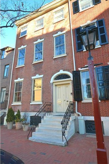 Get modern amenities, historical charm and parking at this 4th Street townhouse.