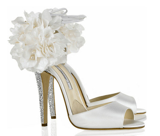 Brian Atwood Launching New Collection of Sky-High Bridal Shoes