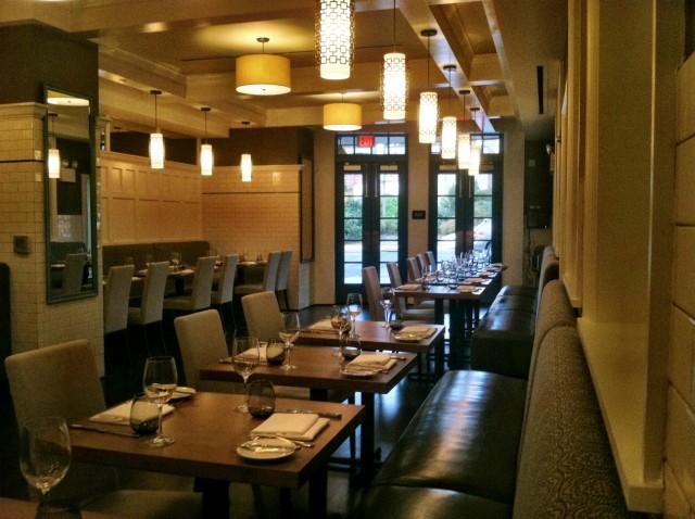 Cirton & Rose dining room. Via Foobooz