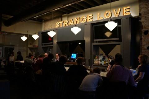 Strange Love tops the bar.
