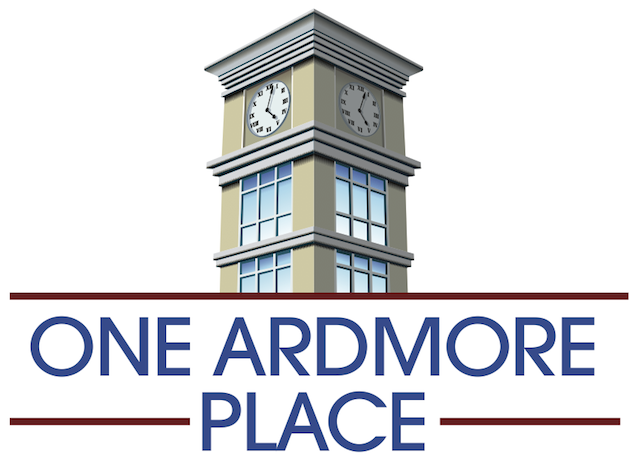 Logo for One Ardmore Place, Carl Dranoff's new mixed-use development. Courtesy Dranoff Properties.