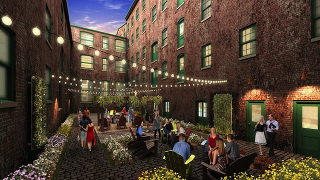 Rendering of Oxford Mills