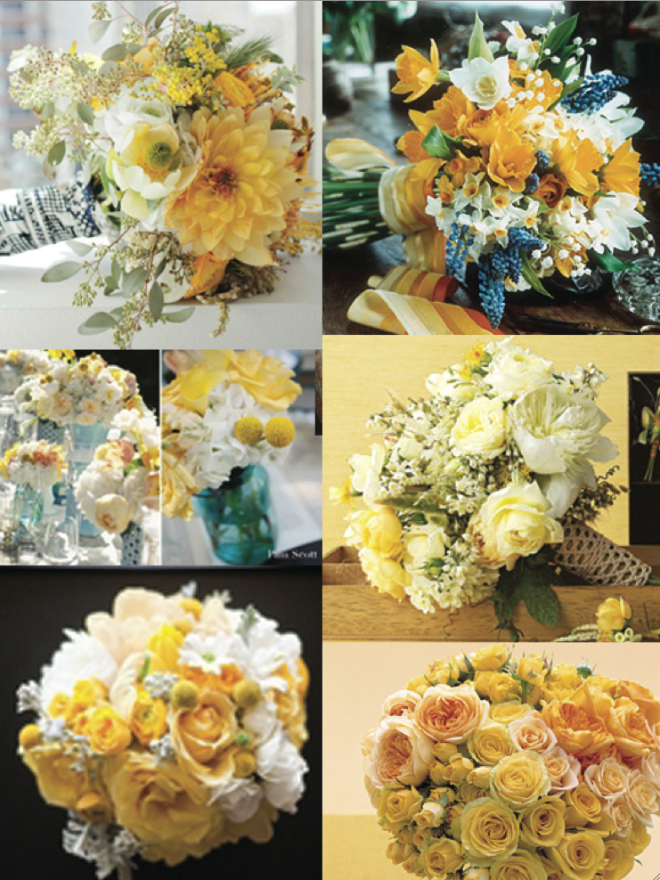 Bride-to-be Blogger Kristy: Choosing Our Wedding-Day Flowers!