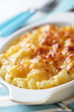 Mac and cheese gets a Greek-yogurt makeover.