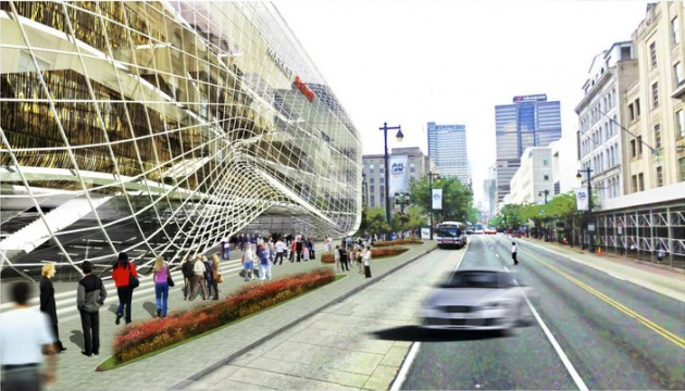 Rendering of Market8