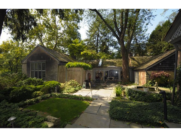 Swing by this carriage house in Lower Merion on April 7 for an open house.