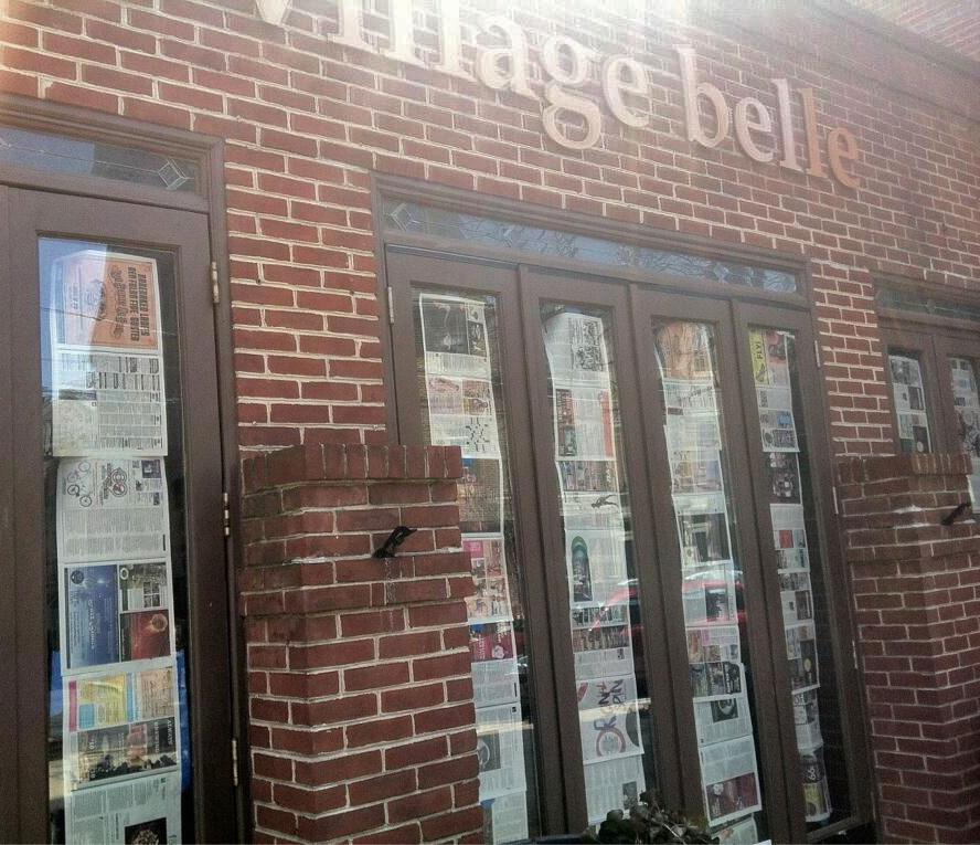 village-belle-papered-windows