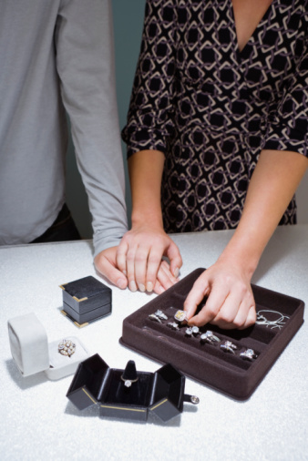Bride-to-be Blogger Stephanie: Choosing Our Wedding Bands! (Kinda)