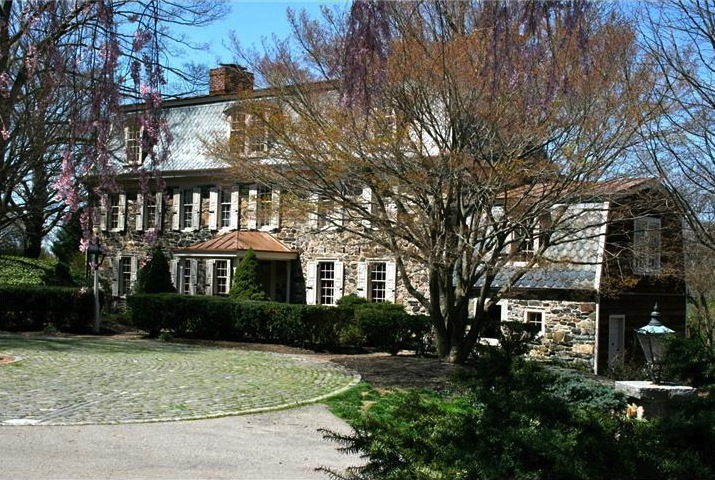 This historic Chester County farmhouse dates back to the 1700s and includes original features.