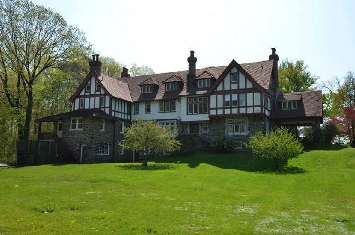 This Merion Station estate for sale once belonged to famed art collector Albert Barnes.