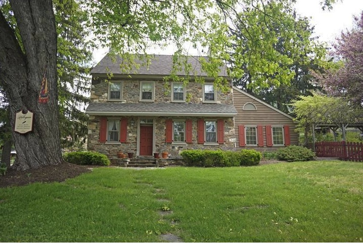 Quaint farmhouses from the 18th and 19th centuries, like the one at 33 Heyburn Rd., are a draw to Chadds Ford.